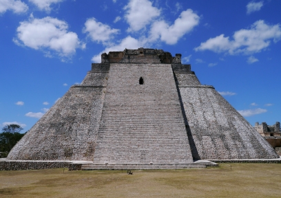 Uxmal, an ancient Maya city located 62 km south of Mérida.