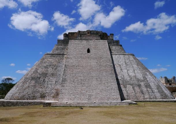 Uxmal, an ancient Maya city located 62 km south of Mérida.