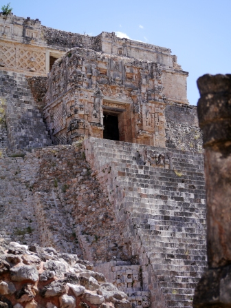 The Maya architecture here is considered matched only by that of Palenque in elegance and beauty.