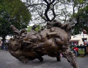sculptor Javier Marin