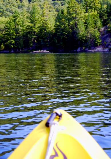 Kayaking on McArthur Lake