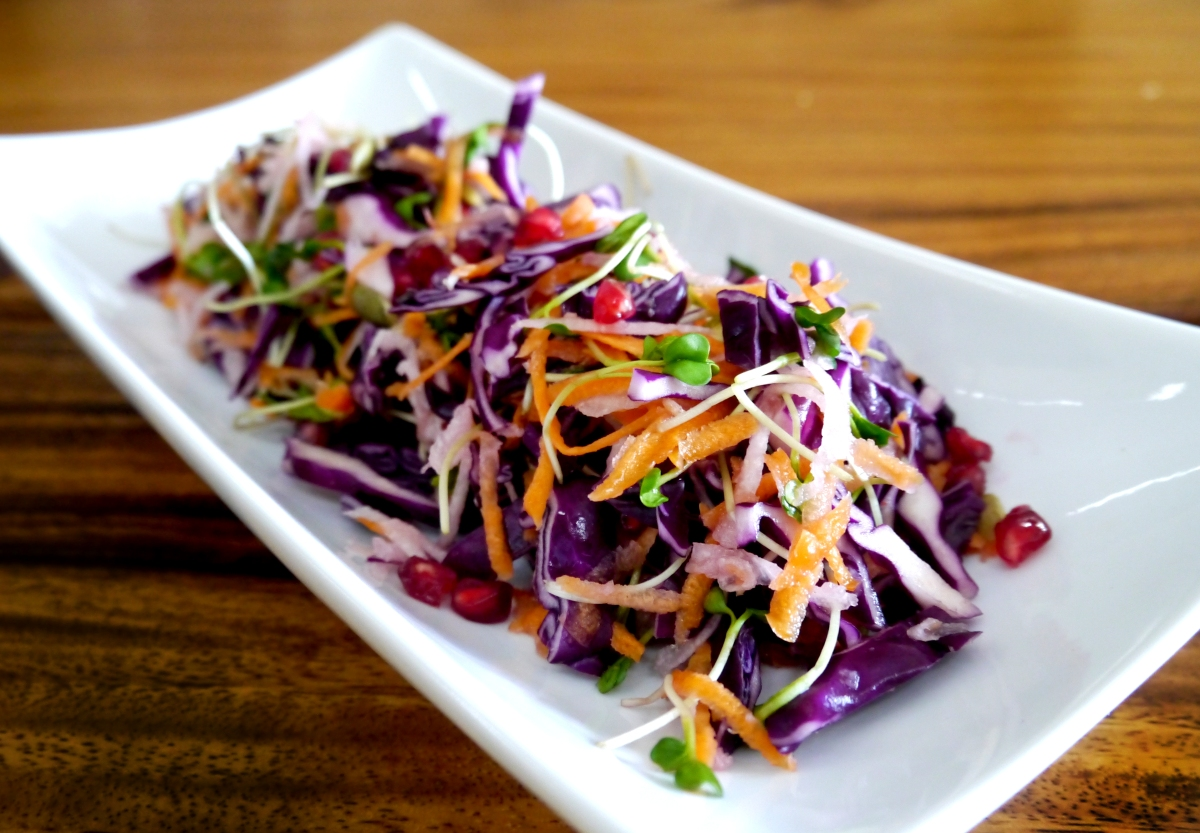 Mexico Inspired Christmas Slaw
