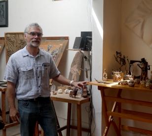 Alejandro Farias 2015 Artist Studio Tour