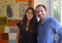 Samia Farah & Emilio Said 2015 Artist Studio Tour