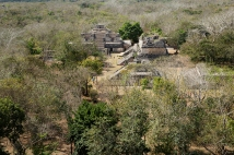 The Mayan ruins Ek Balam