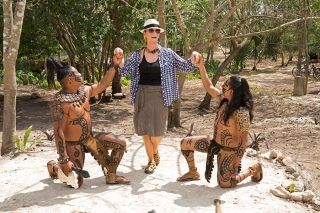 Princess Tina and the Mayan warriors