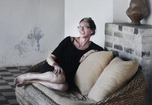 Laureen Vonnegut, at home in the cookie factory ©Alison Wattie