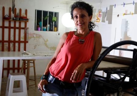 Mixed media artist Lilian Rivera