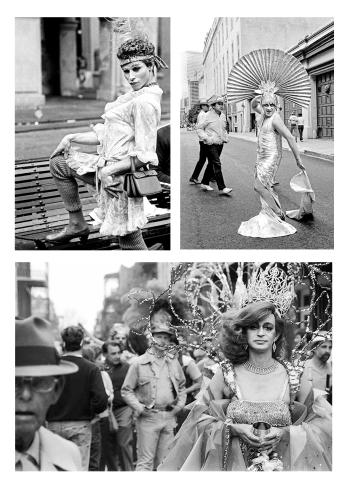 3 of 33 Mardi Gras photographs; Portfolio Edition of 9 ©Ric Kokotovich