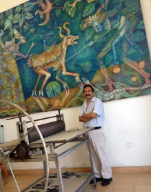 Painter Abel Vasquez