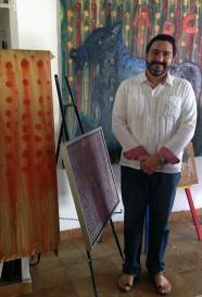 Painter Ernesto Novelo