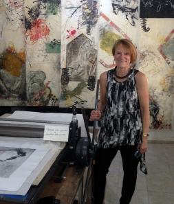 Printmaker/Painter Lucinda Young