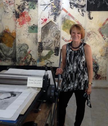 Printmaker/Painter Lucinda Young