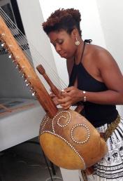 Musician Guylene Solon