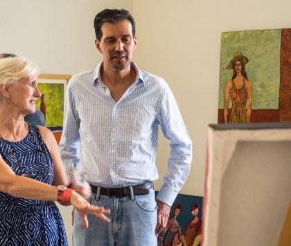 Painter Renato Chacon